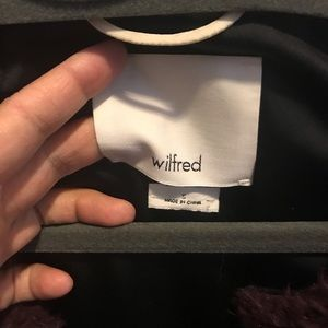 Wilfred Jackets & Coats - Wilfred small chatou shearling vest worn once